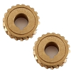 2 Genuine MTD 917-04861 OEM 20 Tooth Worm 20T Gear for Craftsman Lawnmower Parts