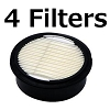 Black and Decker D55170/D55275 Compressor Genuine OEM Replacement Filter 4-PACK # 5130147-01
