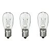 Dryer Light Bulb, 10 Watts, Replaces General Electric WE4M305, GE Dryer Light 3 Pack