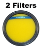 Washable Pre Filter For Eureka DCF25 fits SuctionSeal, AirSpeed, Part 67600 2 Pack