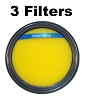 Washable Pre Filter For Eureka DCF25 fits SuctionSeal, AirSpeed, Part 67600 3 Pack