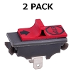2 On/Off Kill Switch for Husqvarna 362, 365, 371, 371xp, 372, 372XP