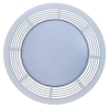 S97017702 Broan Nutone Grille and Lens Assembly for 8663RP Fan Unit