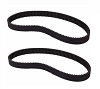 2 Air Compressor Belt for Porter Cable Devilbiss Dewalt C2002, AC-0815