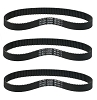 384-3M-12 Scooter Drive Belt for Pulse Revolution City Skull Electric Scooter 3 Pack