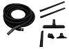 Central Vacuum Home Auto Car Garage Deluxe Kit w/ Hose & Attachments for Beam Vacuflo