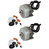 2 SM5109 Supco Refrigerator Condenser Fan Motor 2W 115V for Whirlpool Kenmore 833697