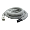 Central Vac 15' White Vacuum Hose Extension for Beam Nutone Vacuflo