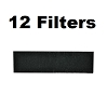 Carbon HEPA Pre-Filter Replaces Honeywell and Vicks HRF-B1 (12-Pack)