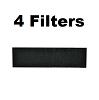 4 Pack Carbon HEPA Pre-Filter Replaces Honeywell & Vicks HRF-B1 & HRF-B2