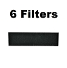 Carbon HEPA Pre-Filter Replaces Honeywell and Vicks HRF-B1 (6-Pack)