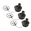 Poulan Chainsaw (3 Pack) Replacement Fuel Cap Assembly W/Retainer # 530047192-3PK