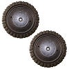 "Genuine Troybilt MTD Yardman Self Propelled 8"" Drive Wheel 734-2042 (2-Pack)"