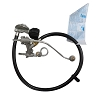 Weber Part 80390 Manifold Gas Valve and Hose Regulator Q 300 Series