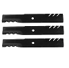 Set of 3 Gator Blades 96-319 for Gravely & Ariens 60
