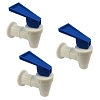 3 Blue Water Cooler Faucet for Tomlinson Sunbeam and Hamilton Beach
