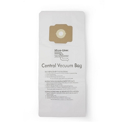 DVC Paper Replacement Bags Fit Eureka, Beam, Electrolux Central Vacuums -  6 Bags