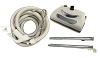 New Central Vacuum 35 Foot Hose Kit with Power Head for Nutone & Beam