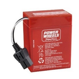 Power Wheels 00801-0712 6 Volt Rechargeable Battery 00801-0481