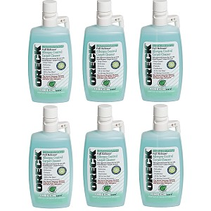 Oreck Carpet Cleaning and Hard Floor Cleaner Shampoo, 6 Pack