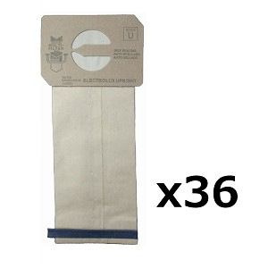 36 Style U Vacuum Bags for Electrolux
