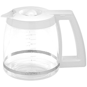 Cuisinart DCC-1100 Coffee Maker 12 Cup Carafe Glass White Pot DCC1100