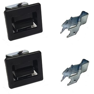 Sears Kenmore Dryer Door Latch 2 Pack Replaces 279570 Catch Strike