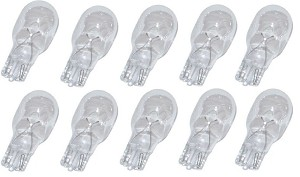 10 Wedge Base Light Bulb T5 7 Watt Replacement Bulbs for Malibu
