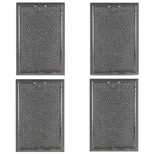Grease Filter for GE Microwave 5 1/16 x 7 5/8 (4 Pack)