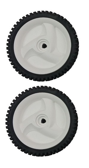 (2) 194231x427 Poulan Mower Wheels Front Drive 8