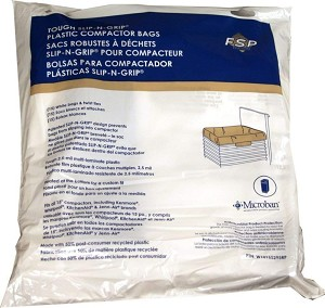 Whirlpool Trash Compactor 15-Inch Plastic Bags (15 Bags)