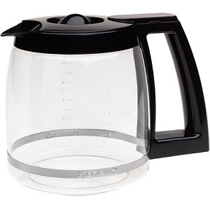 Cuisinart DCC-1200 12 Cup Black Coffee Glass Carafe DCC1200 Genuine