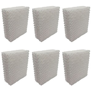 EFP Humidifier Filters for 1043 AIRCARE, Essick, Bemis, CB43 Model Humidifiers Replacement Wicking Filters | Includes 6 Aftermarket Filters
