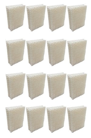 EFP Humidifier Filters for HDC12 AIRCARE, Essick Air HD13030, HD1303, Essick MoistAir HD14060, HD1406, HD13050, HD1305, HD1407, Emerson Model Humidifiers - Replacement Wicking Filters | 16 Filters