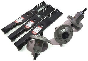 PK3 GY21099 Mower Deck Spindles Blades GY20684 190C D170 G110 LA150 LA175  592617