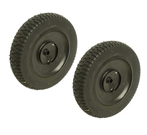 2 Husqvarna 532150341 Mower Wheels Rear
