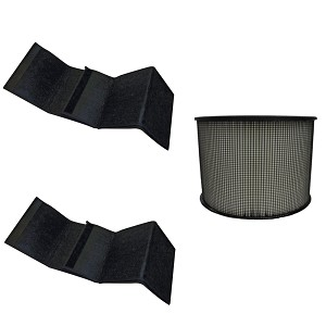HEPA Plus Filter for Filter Queen Defender Air Purifier 360 AM4000 D360 w Wraps