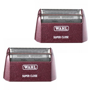 2 WAHL 5 Star Series Shaver/Shaper Super Close Foil Replacement - Silver