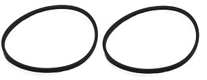 2 PK Washing Machine Drive Belt for Frigidaire, AP3867042, PS1146950, 134511600