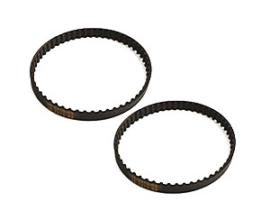 Vacuum Cleaner Geared Belt Replaces 20-5285 for Kenmore Vacuums, 2 Pack