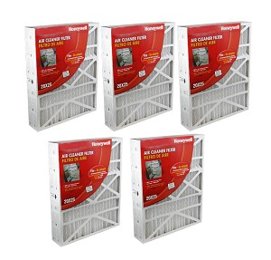 Aprilaire 20X25X4 High Efficiency Furnace Filter MERV-8, 5 Pack