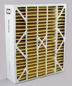 Carrier High Efficency 20x25x6 Merv 11 Furnace Filter Case of 2