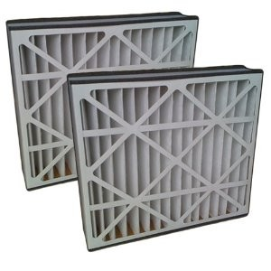 Air Bear 16x25x5 Furnace Compatible Filter MERV 8 2 Pack