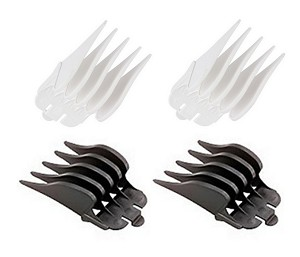 Wahl Hair Clipper Guide Comb #10, #12 1.25 Inch & 1.5 Inch Kit (4-Pack)
