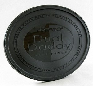 Presto DualDaddy Deep Fryer Replacement Deep Fryer Cover Lid 32835