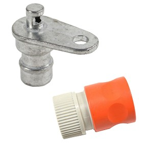 Husqvarna Tractor Deck Washout Port and Coupler