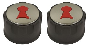 2 Weber Gas Grill Knobs for Spirit 200 Series