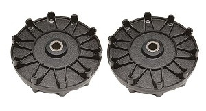 Sears Craftsman Snowblower Track Wheel 731-1538 Genuine 2 Pack