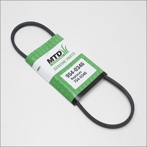 MTD Snow Blower Belt 954-0346 Snowthrower V-Belt 754-0346