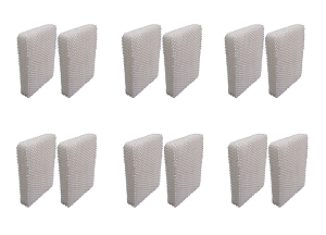 12 Wick Humidifier Filters for Holmes HWF-55, H55